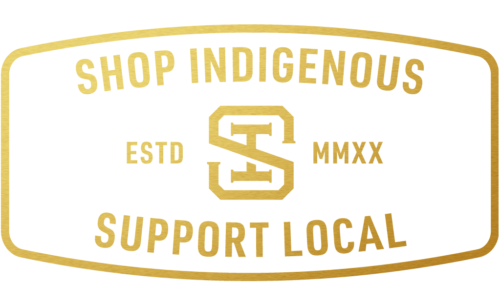 Thred Design Co. | Shop Indigenous support local business logo 2