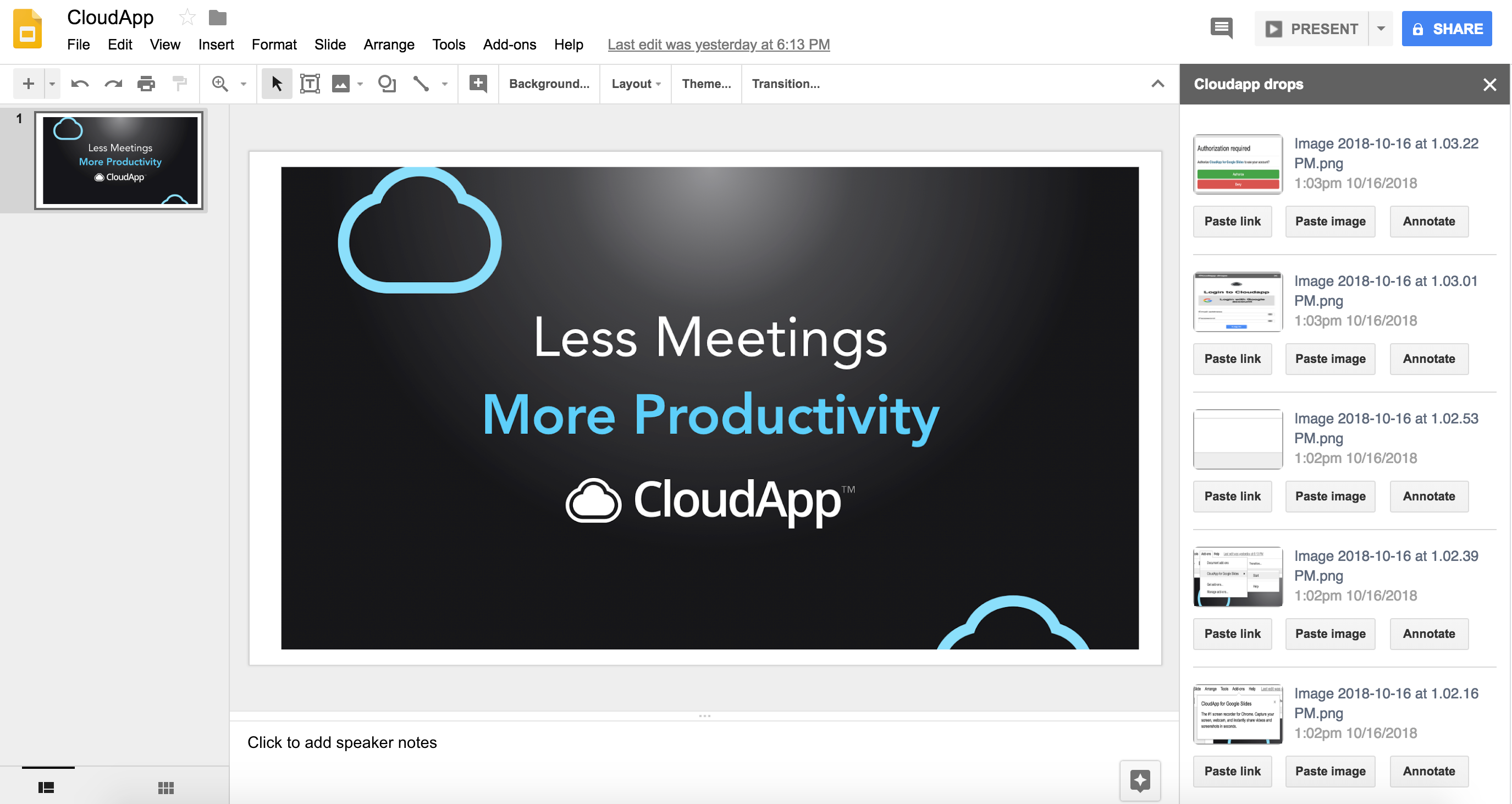 New Feature Supercharge Google Slides With The Cloudapp Add On