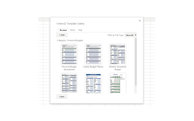 Template Gallery For Google Sheets