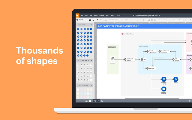 lucidchart diagrams google slides add-on