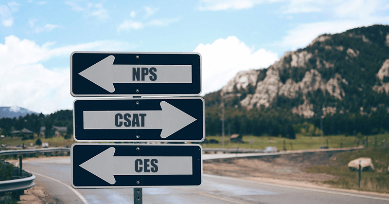 Use NPS, CSAT, and CES to measure customer satisfaction