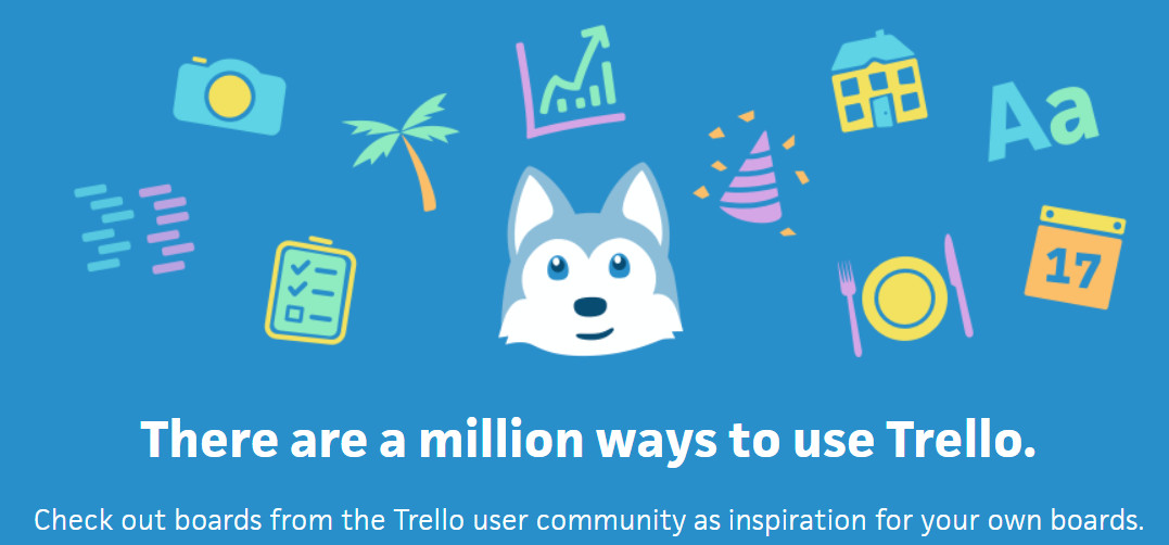 Trello board templates