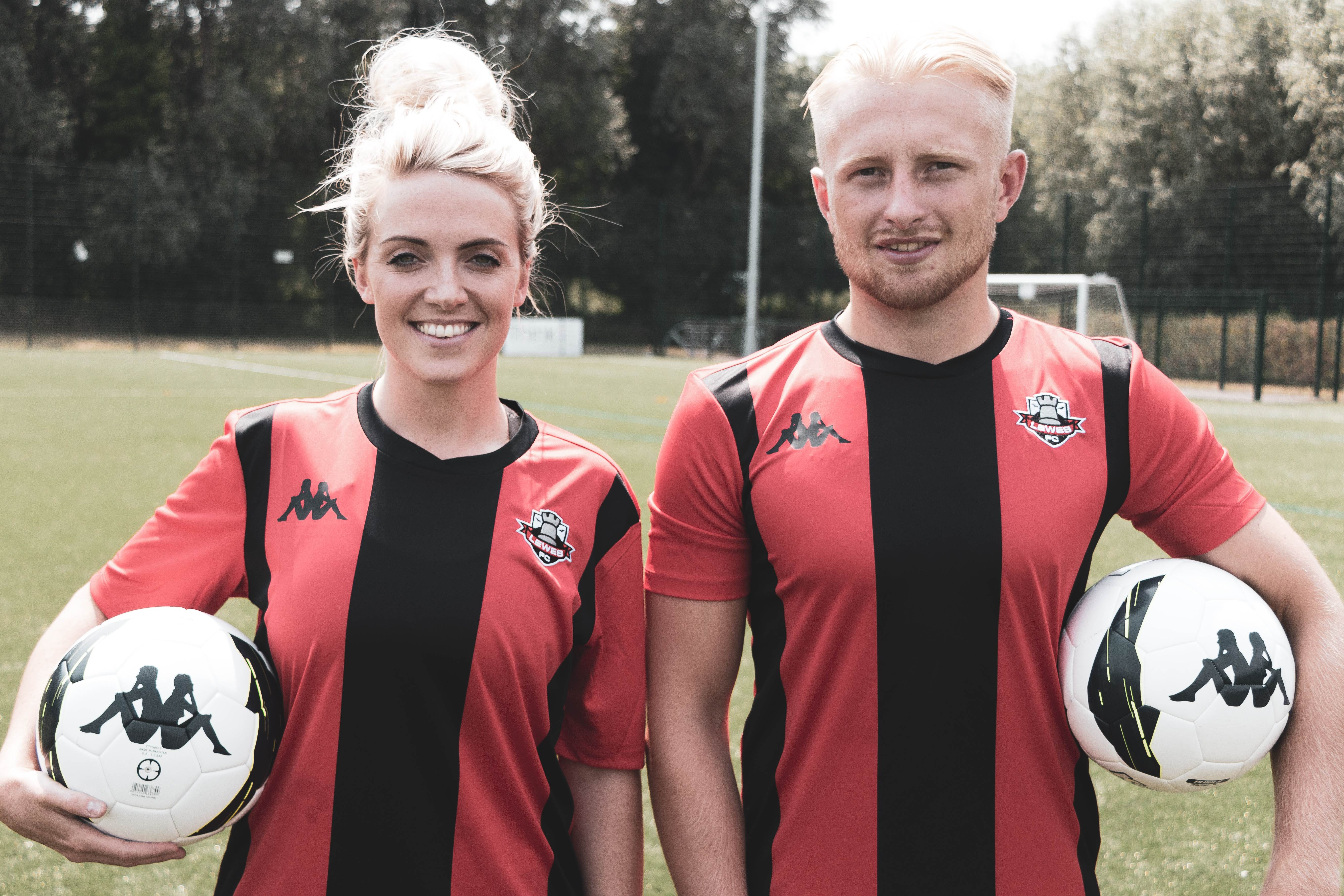 Both Lewes FC first teams will kick off their league campaigns in the new  kit e8ca46e8a