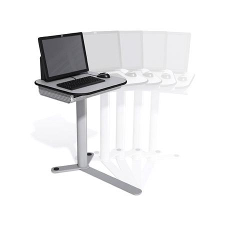 Mesas informatizadas móveis