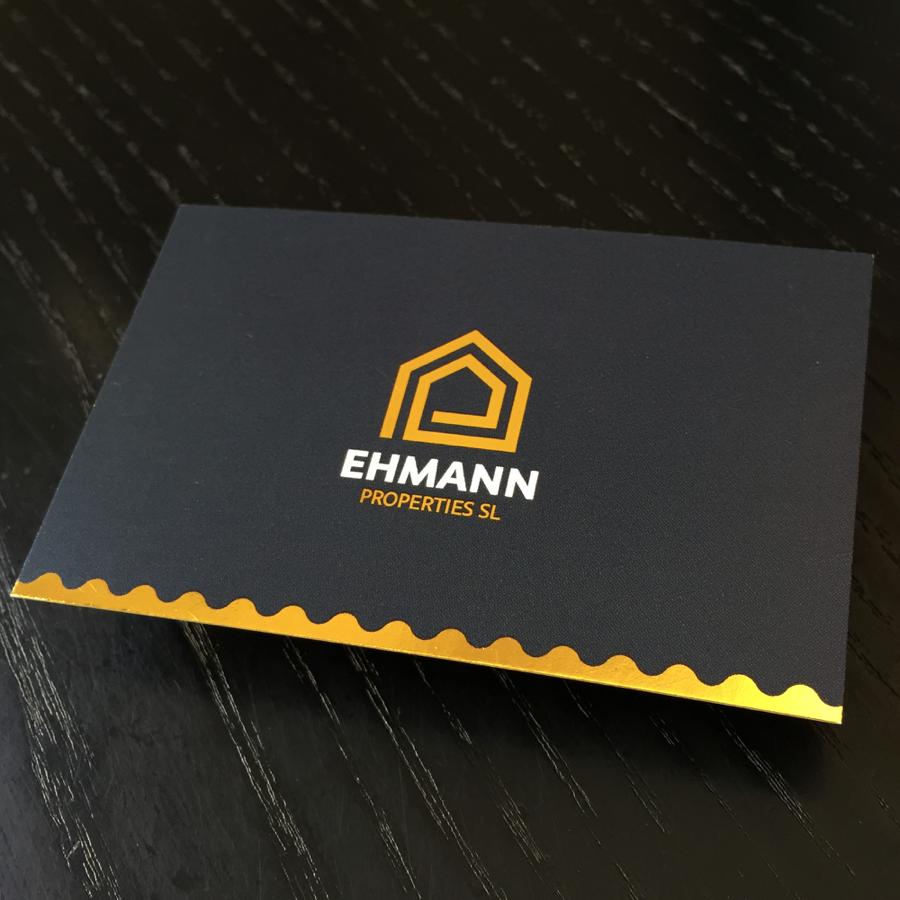 Visitenkarten: Ehmann Properties, Mallorca