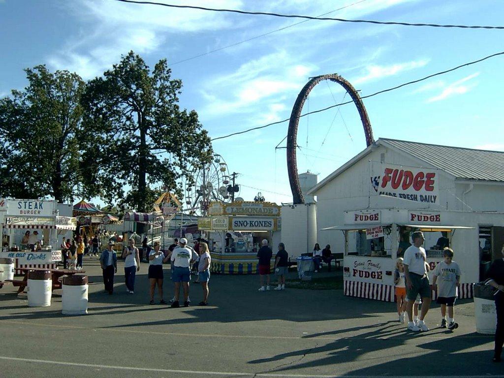 people enjoy a fair in ashland county ohio
