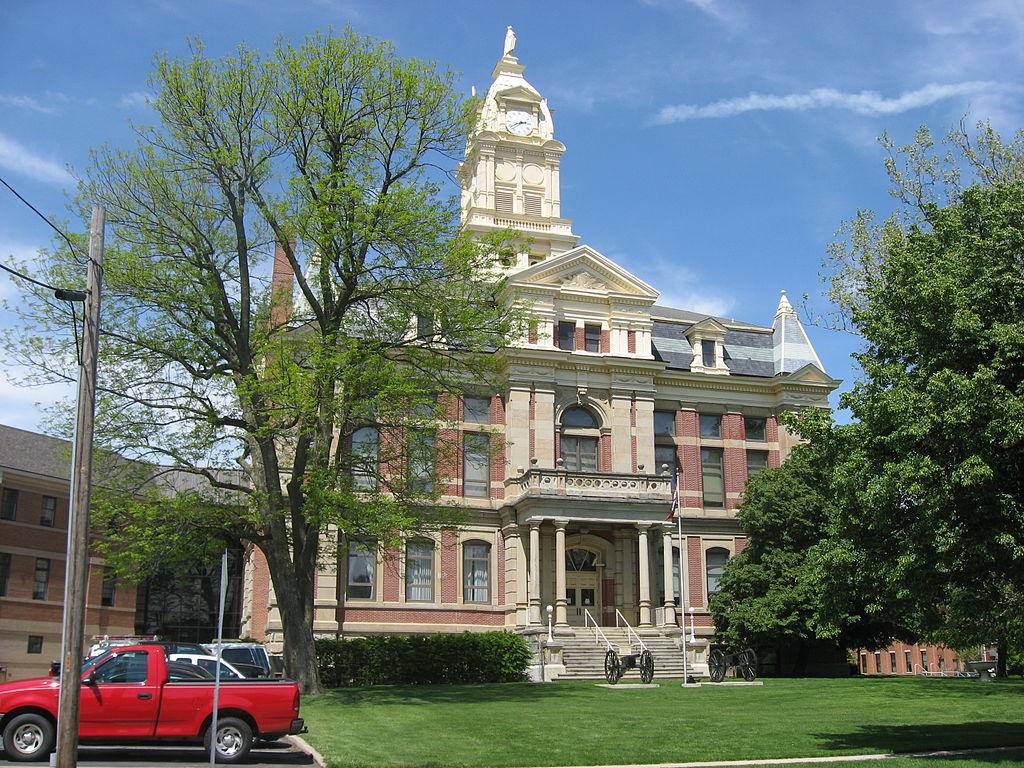 union county courthouse in marysville ohio