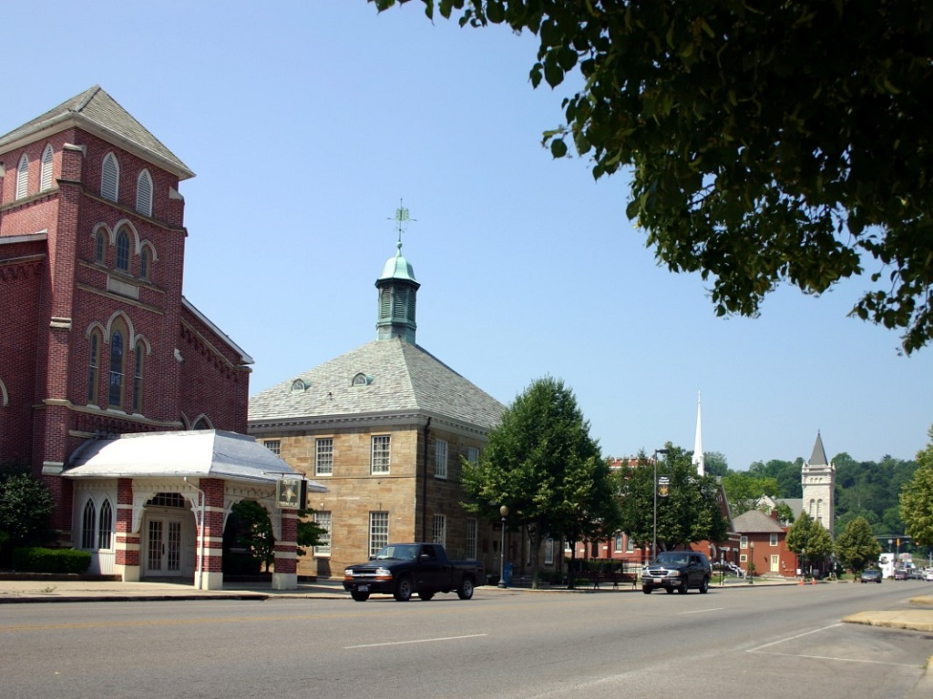 a street in the town of chillicothe ohio