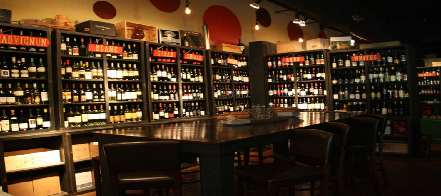 the wine bistro interior