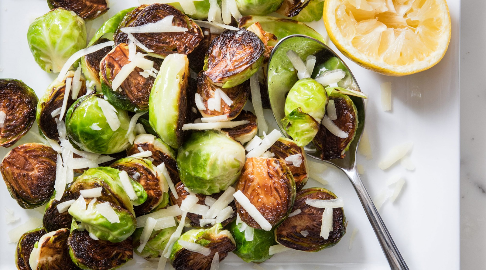 close-up of brussel sprouts
