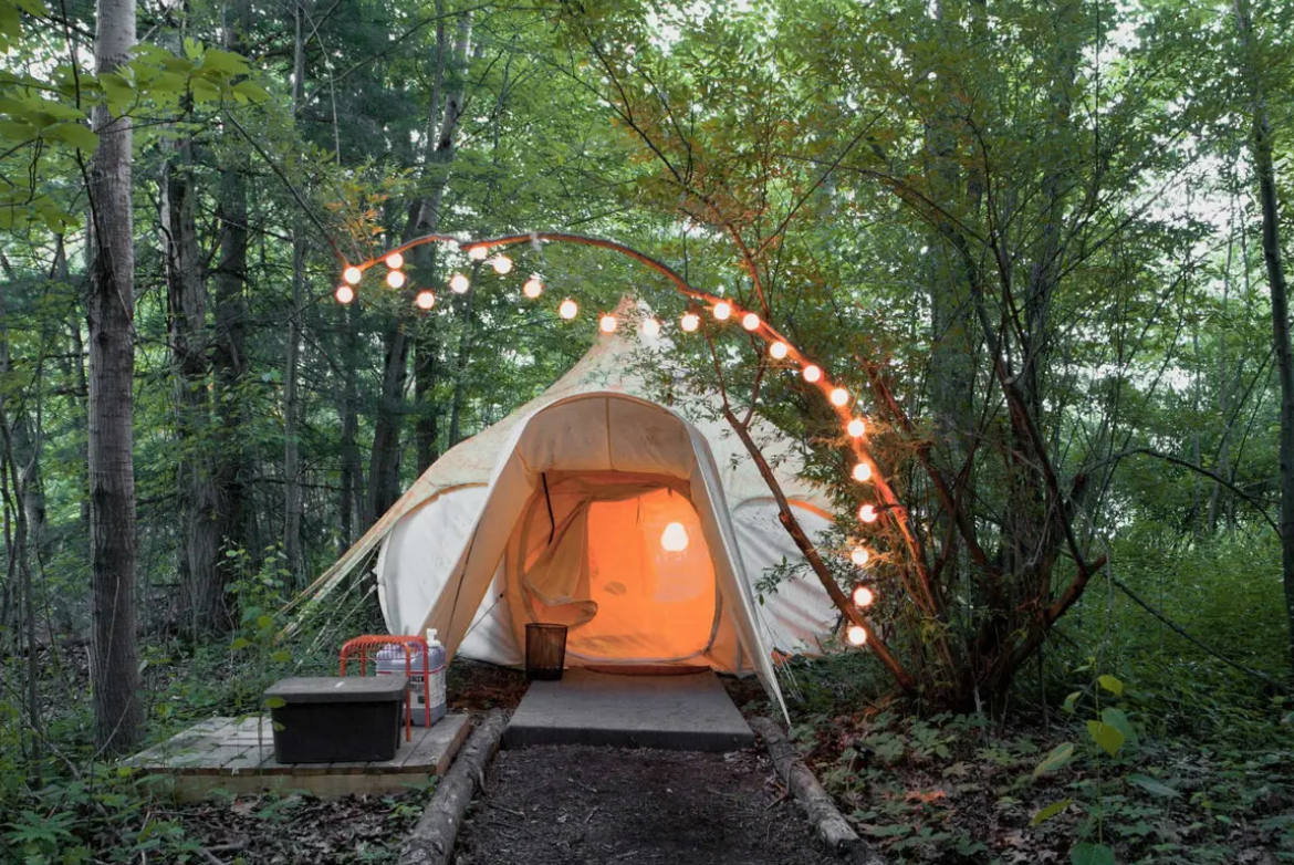 nature tent accommodations