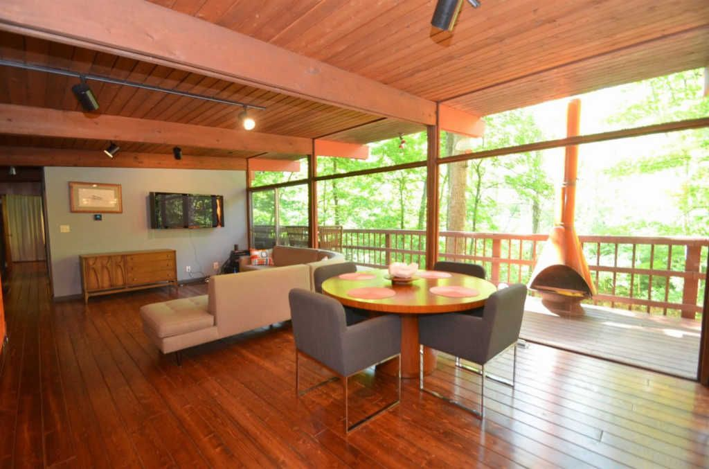 inside view of forest home