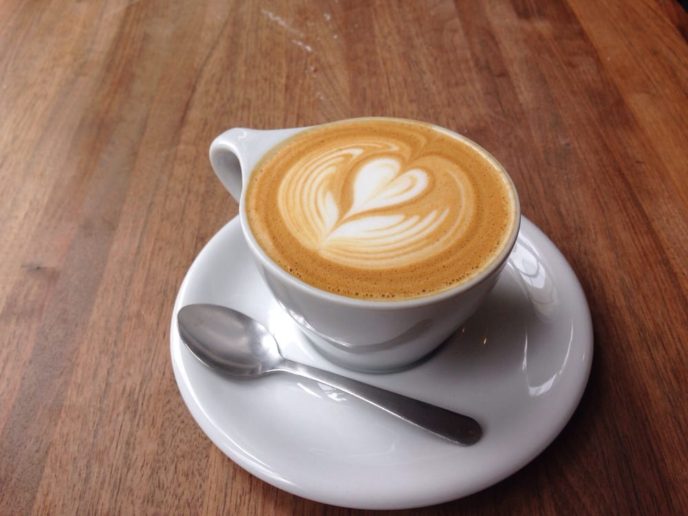 coffee latte from collective espresso in Ohio