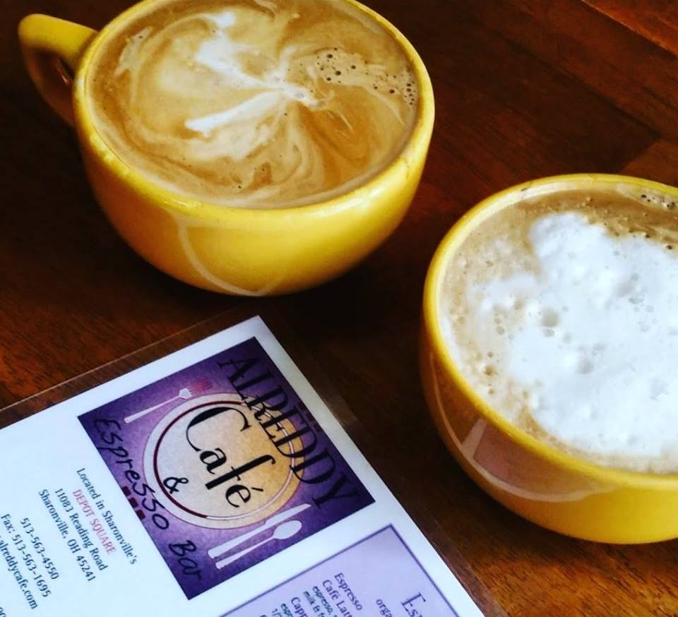 coffee from Alreddy Cafe & Espresso Bar