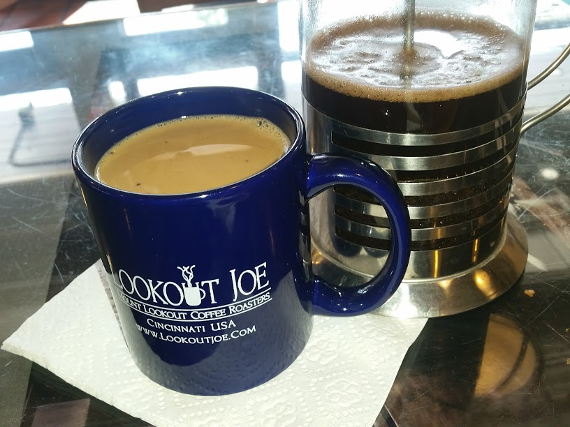 coffee & brew at Lookout Joe, Mount Lookout Coffee Roasters