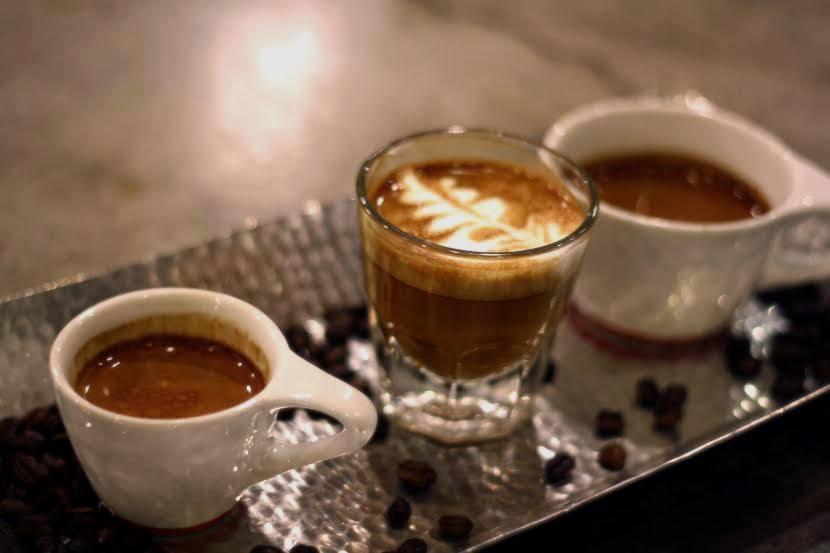 espresso & coffee at Bowtie Cafe in Mt. Adams