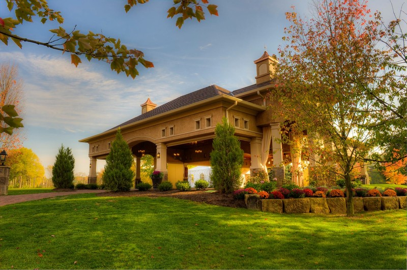 Gervasi Winery and surrounding greenery