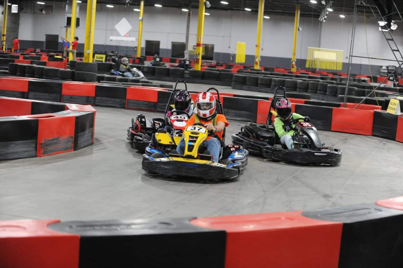 go cart racing go full throttle