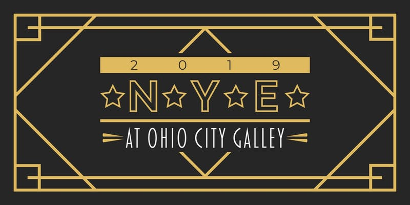 ad for Ohio City Galley New Year's Eve Gala