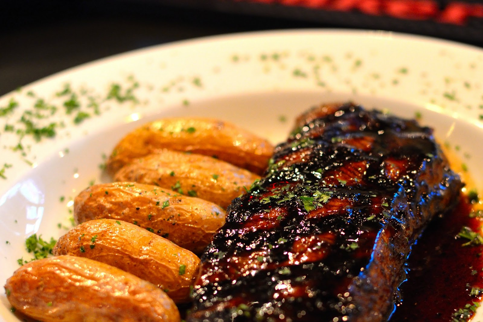 delicious steak and potatoes dish from Gallo's