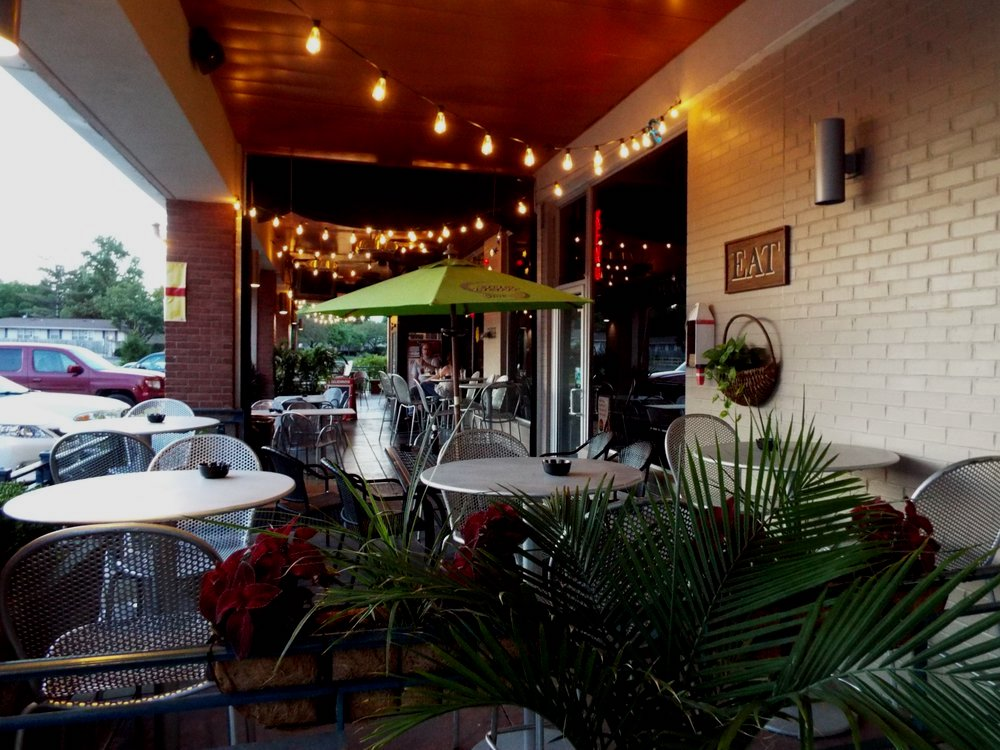outdoor seating & lights from DeArini's Tavern & Grill