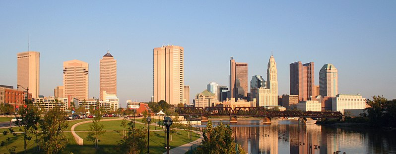 Columbus Ohio City skyline