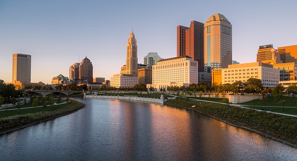 Columbus Ohio Cityscape