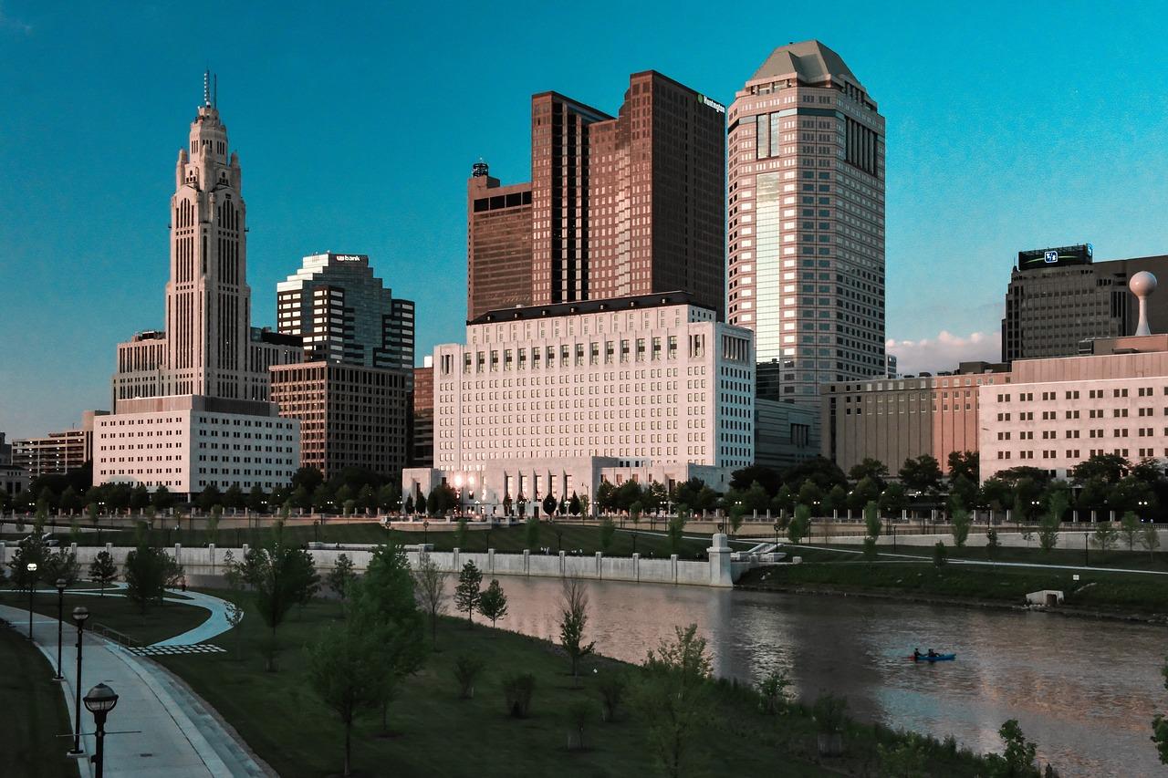 view of Columbus
