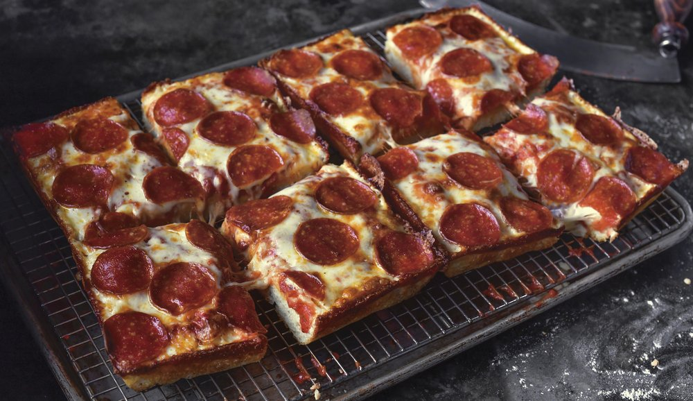 Pizza from Jet's Pizza