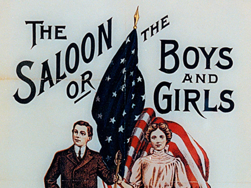 Historic anti-saloon league pamphlet