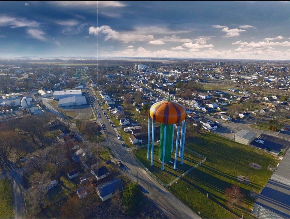 Pumpkin Water tower