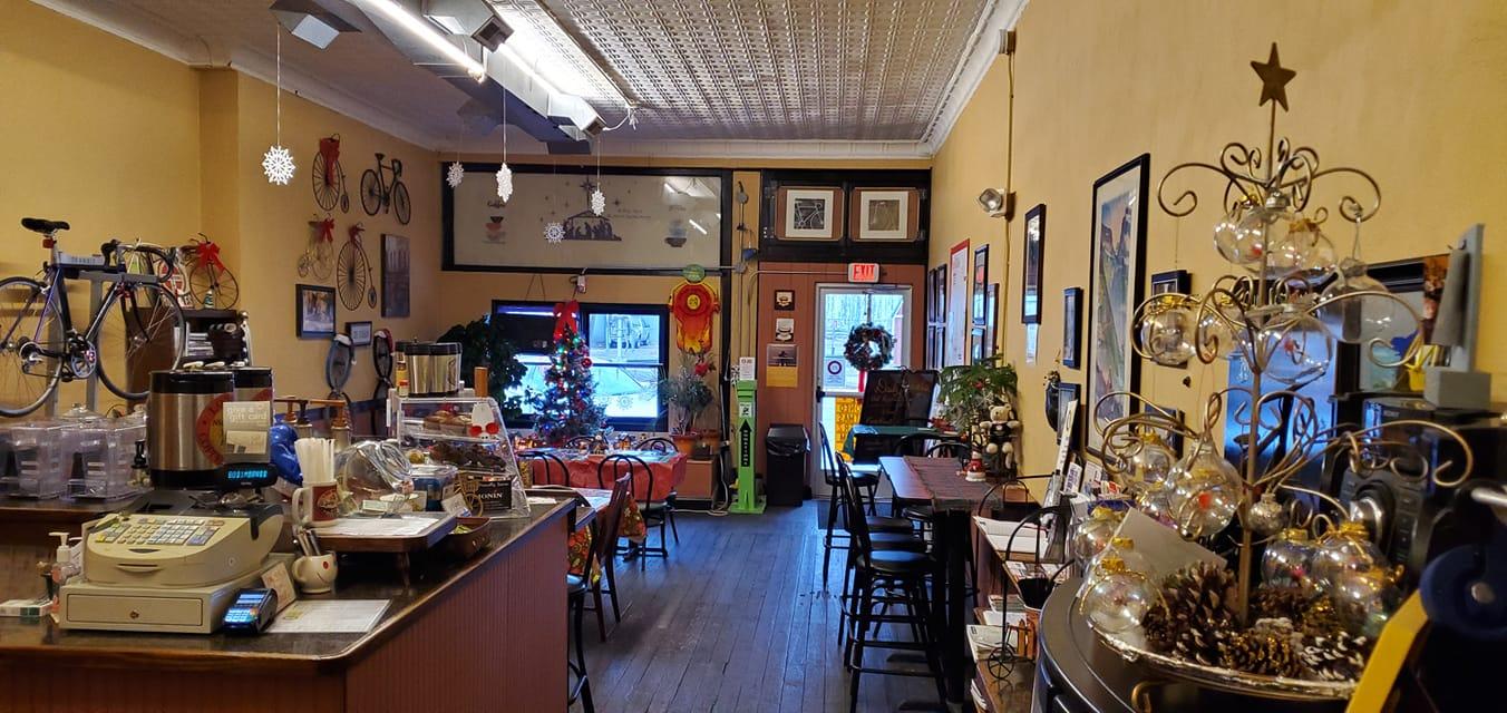 London Coffee Peddler panoramic