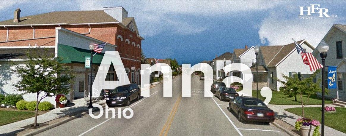 A main road in Anna