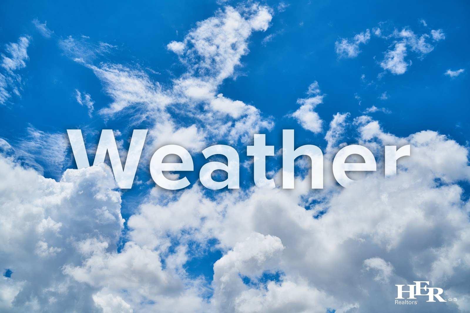 A blue, cloudy sky