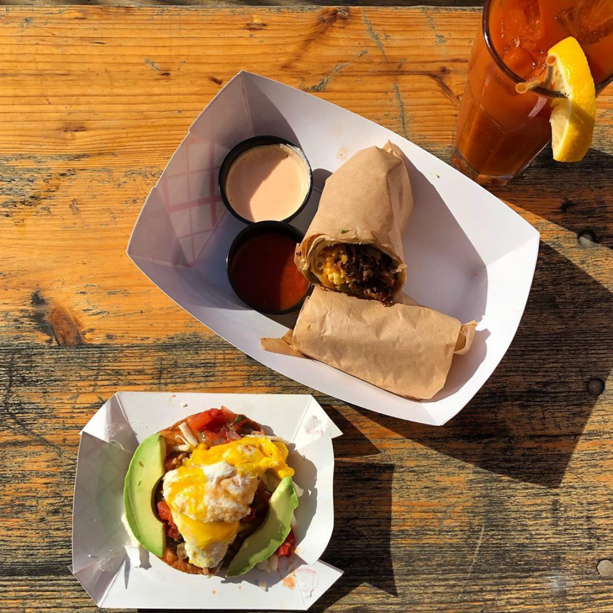 Photo of taco brunch at Oddfellows