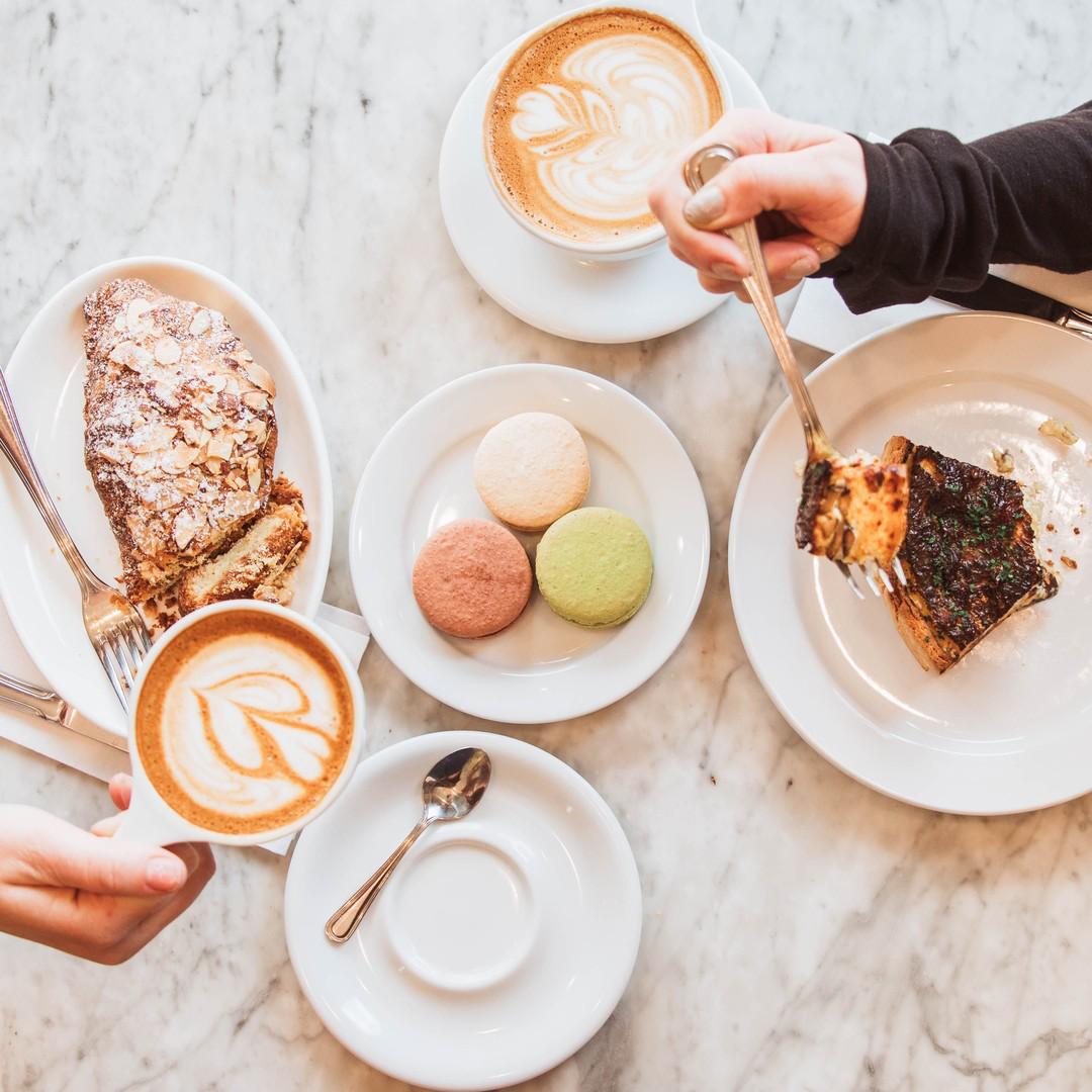 lattes and sweet treats