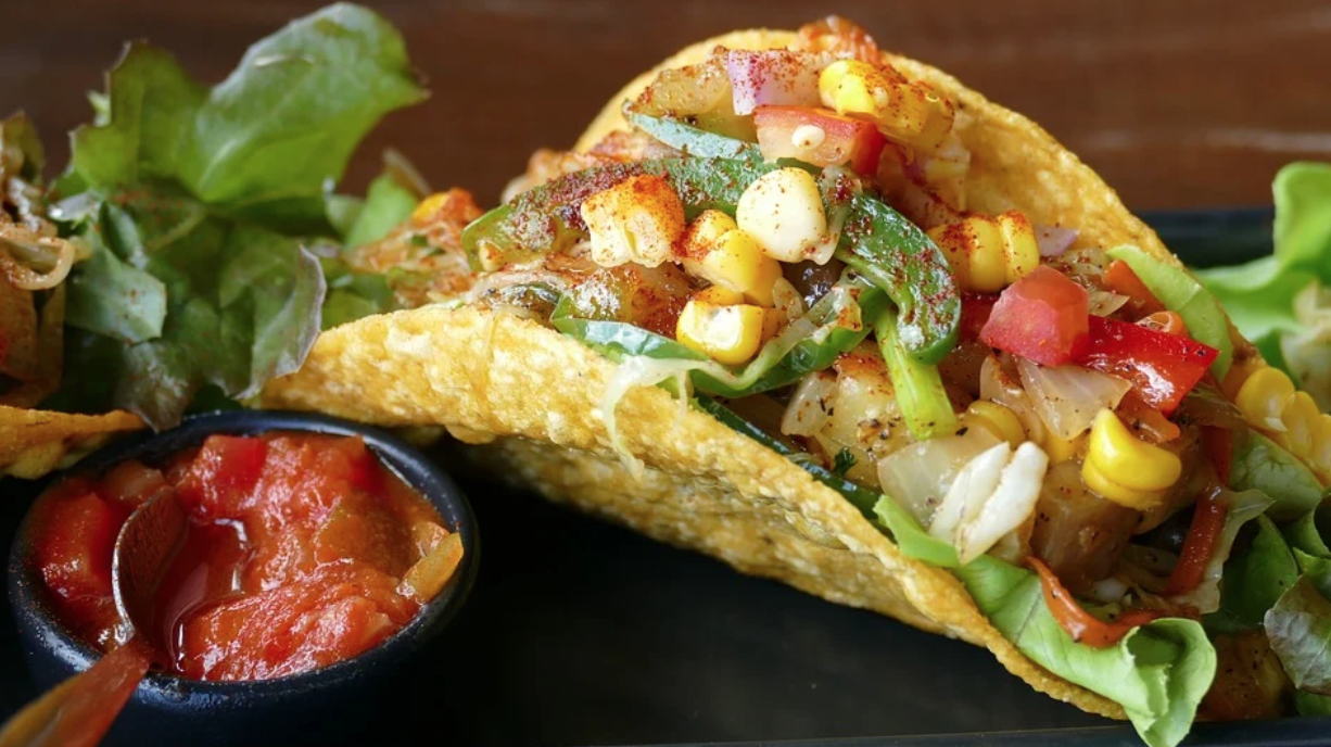 colorful taco