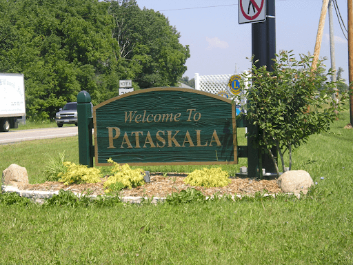 welcome to pataskala sign