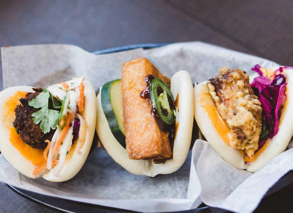 slider sandwiches from Mai Chau