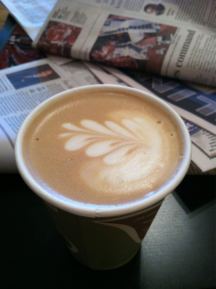 image of latte from river road coffeehouse
