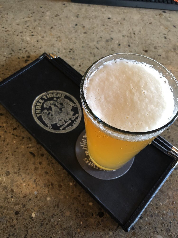 image of fresh poured beer