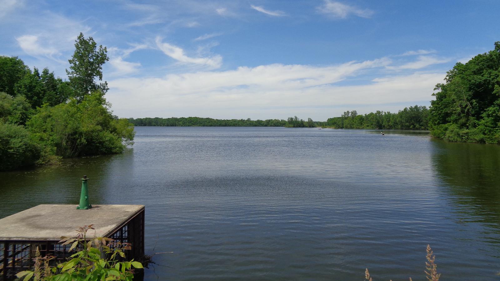 lake Hudson in Granville Ohio