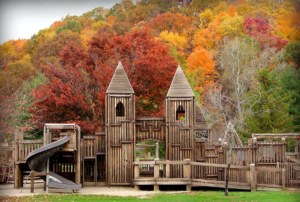 Wildwood Park Castle Looking Playground