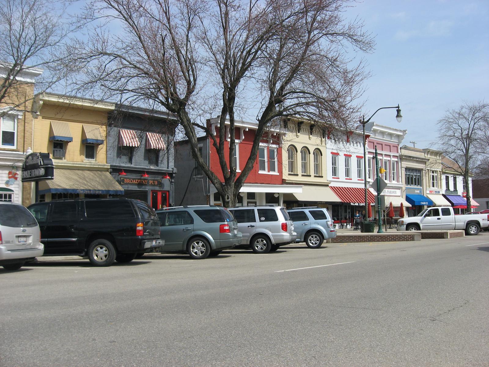 shops on broadway