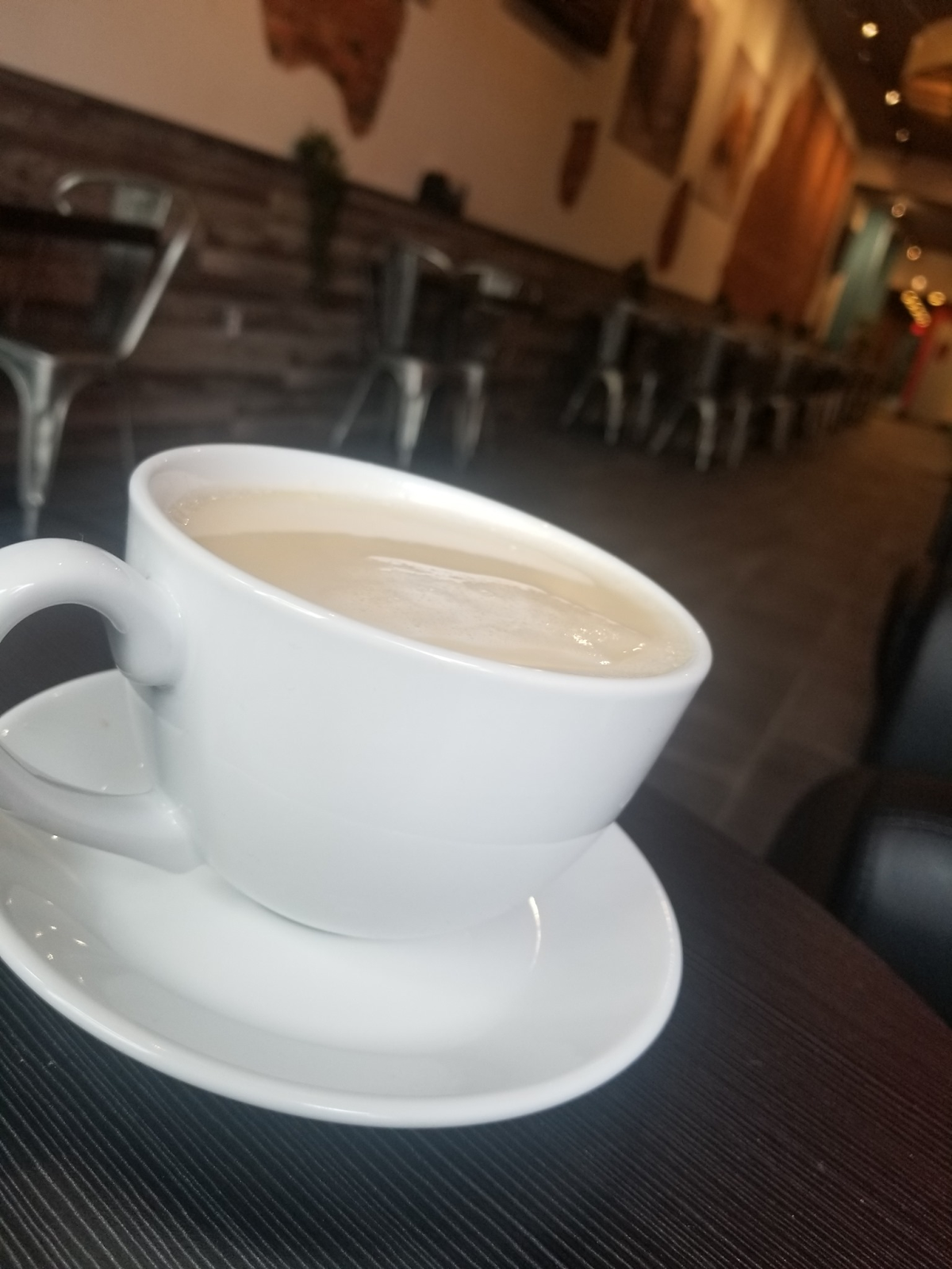 Cup of Coffee in a Cafe