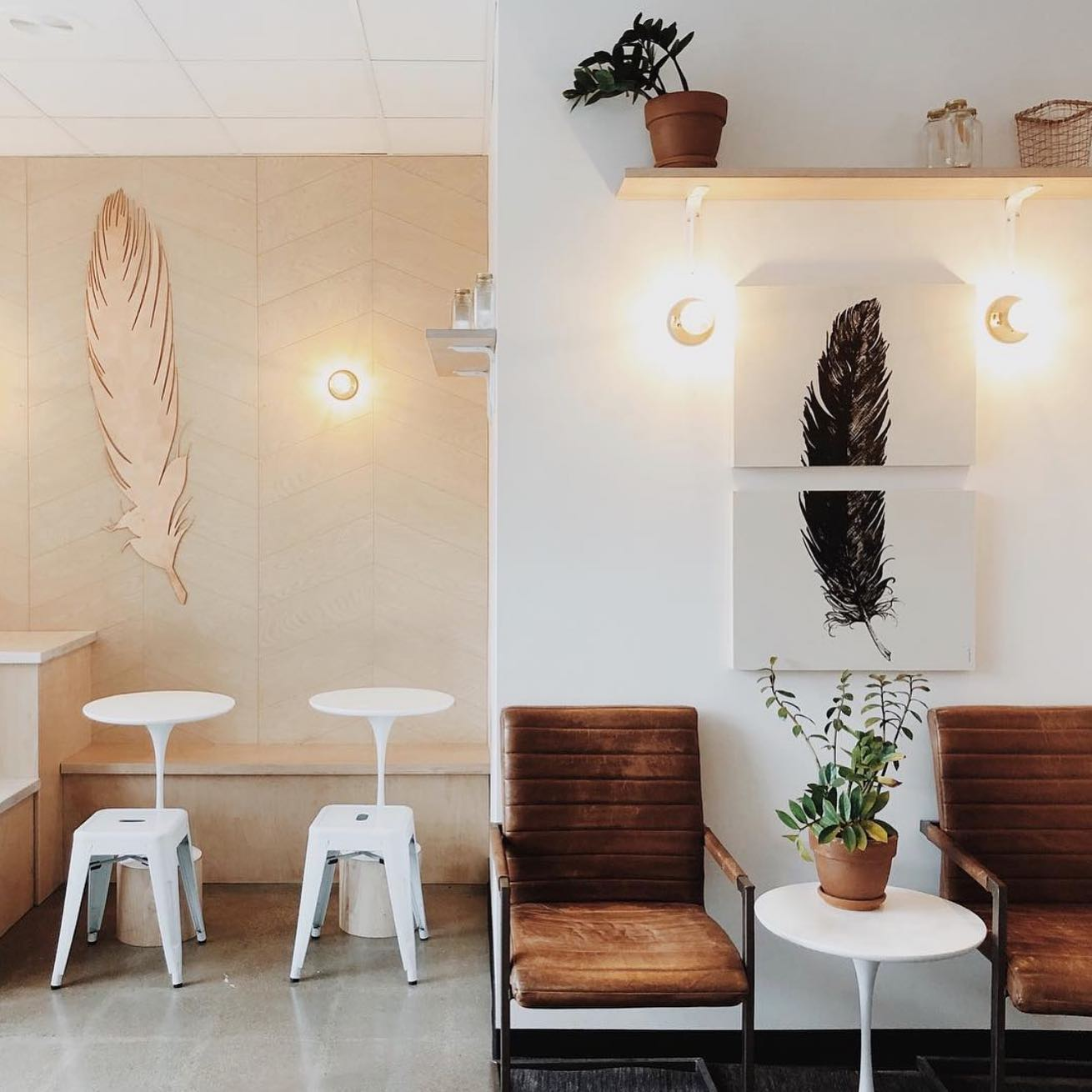 Aesthetic Coffee Shop in Downtown Columbus