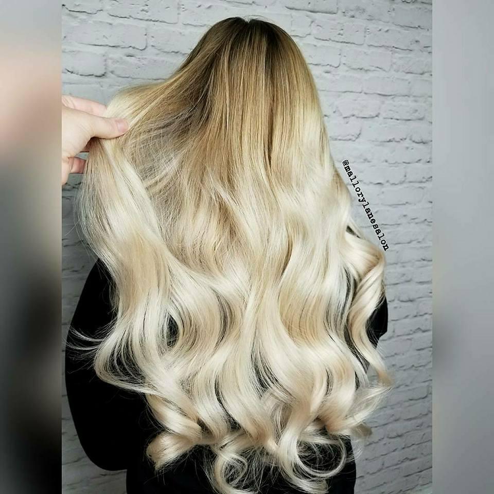 Luscious Blond Locks by Mallory Salon