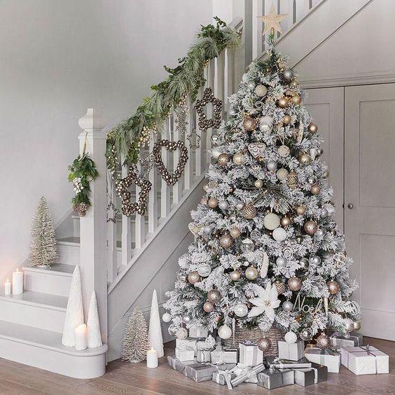 A Silver Christmas Tree