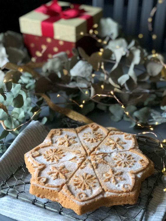 A Traditional Danish Cookie