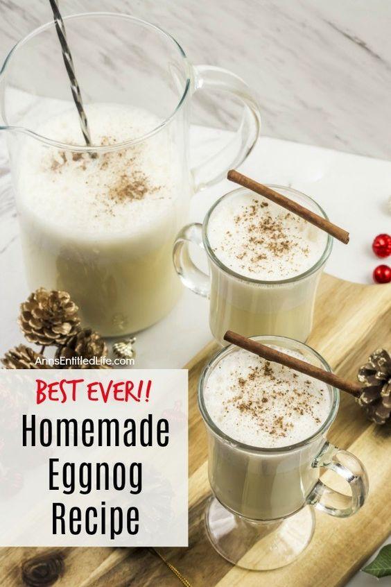 Homemade Eggnog